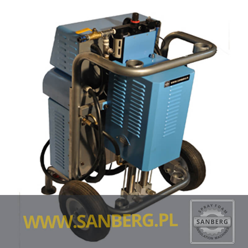 Wspaniały Maszyna do Natrysku Pianki Poliuretanowej Sanberg SG-300 SL04
